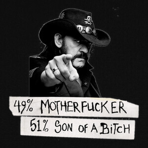 Tee-shirts LEMMY MOTHERFUCKER SON OF A BITCH