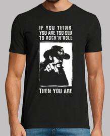 lemmy: se pensi di essere troppo vecchio per