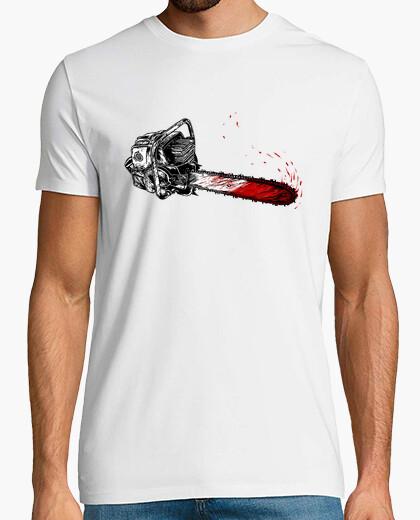 Camiseta leñador de madera
