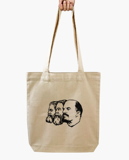 Lenin marx engels bag black