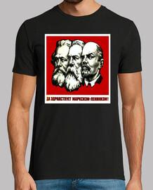 Lenin, Marx y Engels