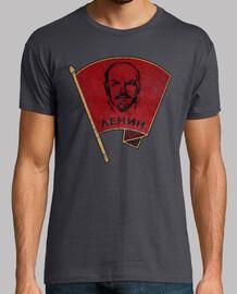 Lenin Red Flag