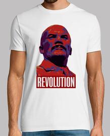 Lenin Revolution blanca