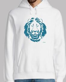 Leo azul (sudadera)