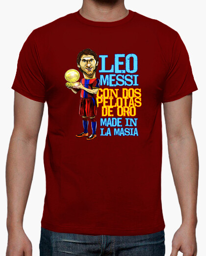 Camiseta Leo Messi made in la Masia