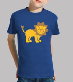 león cómica