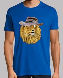 León con sombrero