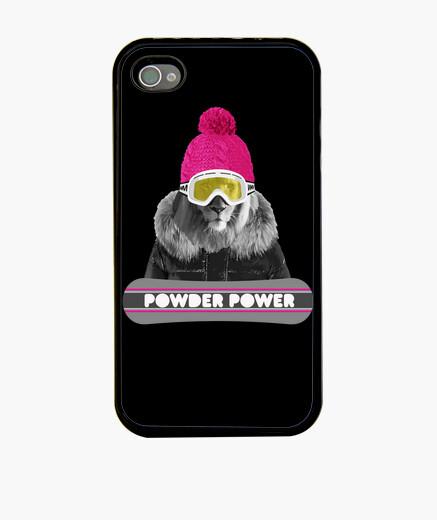 Funda iPhone león de snowboard