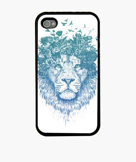 Funda iPhone león floral