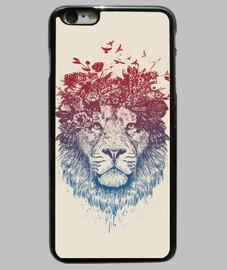 león floral iii