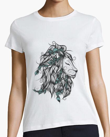 Camiseta león poética