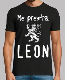 león rampante blanco NEGRO MAN