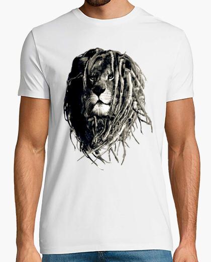 Camiseta León Rasta (Reggae)