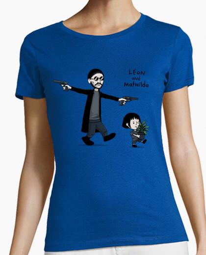 Camiseta león y mathilda