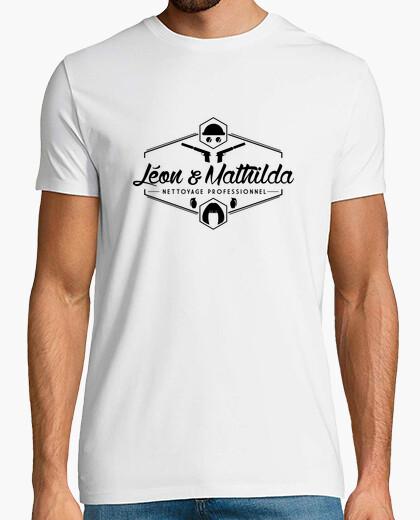 Camiseta leon y mathilda