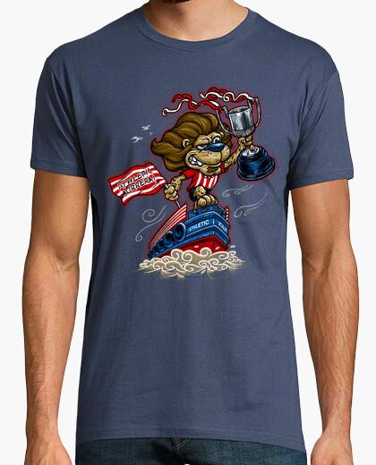Leone e chiatta t-shirt