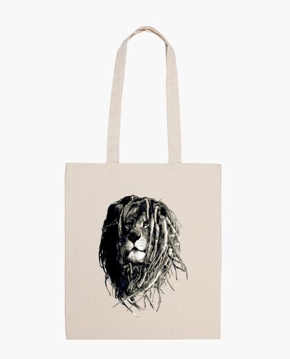 Borsa leone rasta
