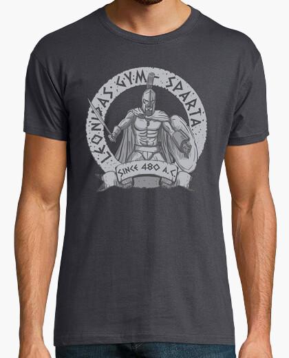 Camiseta leonidas gym
