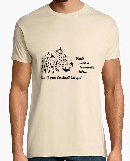 Camiseta Leopardo frase