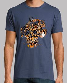 leopardo y calavera