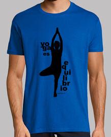 L'équilibre de yoga