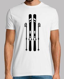 l'équipement de ski alpin