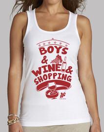 les  homme  et les vins & shopping girl