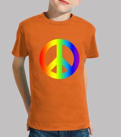 les  tee shirt s d'enfant la paix
