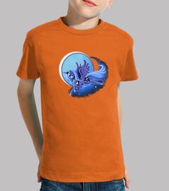 les  tee shirt s d'enfant lunaire licorne