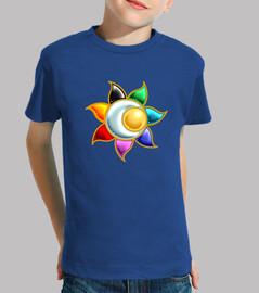 les  tee shirt s d'enfant symbole du cercle solaire