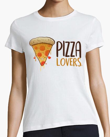 Tee-shirt les amateurs de pizza