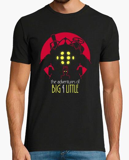 Tee-shirt les aventures de big & peu