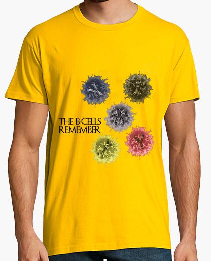 Tee-shirt les cellules b se souviennent clair hmc