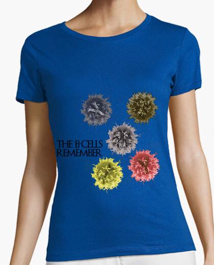 Tee-shirt les cellules b se souviennent clair mmc