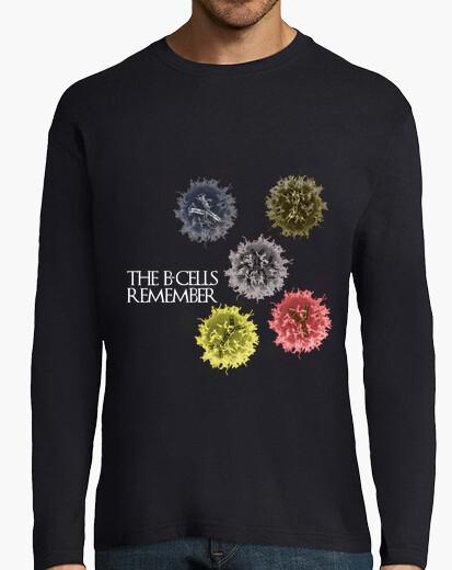Tee-shirt les cellules b se souviennent de hml sombre