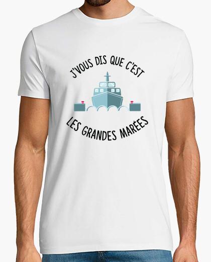 Tee-shirt Les grandes marées François l'embrouille
