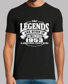 les légendes sont nées en décembre 1953