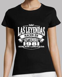 les légendes sont nés en septembre 1981