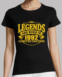 les légendaires sont nées en 1992