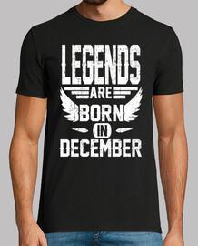 les légendaires sont nées en décembre