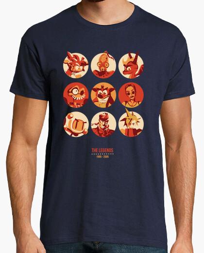 Tee-shirt Les légendes 1995-2005