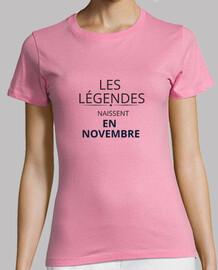 Les légendes naissent en novembre