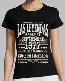 Les légendes naissent en septembre 1977