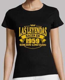 les légendes nés en 1959