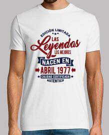 les légendes sont nées en avril 1977