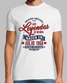 les légendes sont nées en juillet 1968