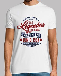 les légendes sont nées en juin 1984
