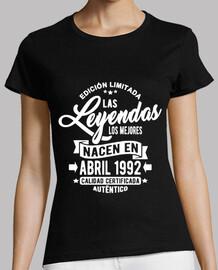 les légendes sont nés en avril 1992
