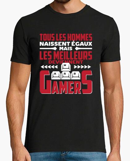 Tee-shirt Les meilleurs gamers cadeau