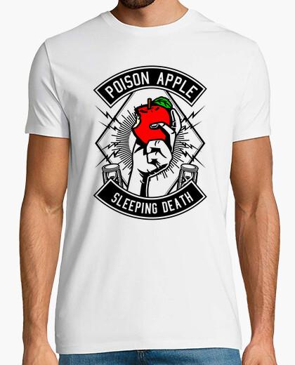 Tee-shirt les poi son apple dormant d eat h